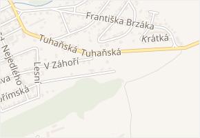 Pod Špičkou v obci Libušín - mapa ulice