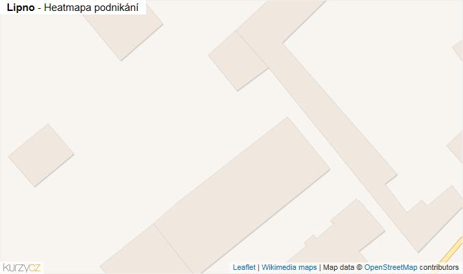 Mapa Lipno - Firmy v obci.