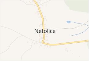 Netolice v obci Lochovice - mapa části obce