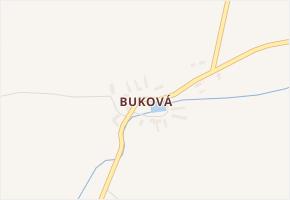 Buková v obci Mezholezy (dříve okres Horšovský Týn) - mapa části obce