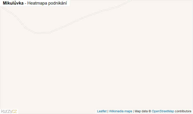 Mapa Mikulůvka - Firmy v obci.