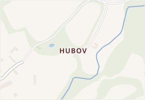 Hubov v obci Nadějkov - mapa části obce