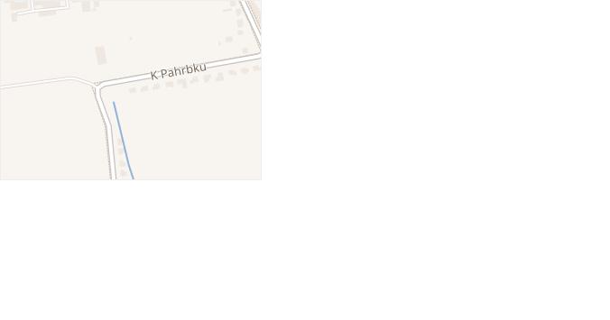 K Pahrbku v obci Napajedla - mapa ulice