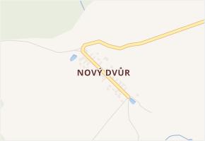Nový Dvůr v obci Nová Ves u Chotěboře - mapa části obce