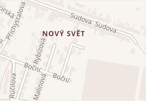 Ostružinová v obci Olomouc - mapa ulice