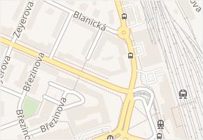Vrchlického v obci Olomouc - mapa ulice
