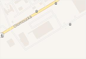 Olomoucká v obci Opava - mapa ulice