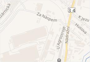 U Nádraží v obci Pelhřimov - mapa ulice