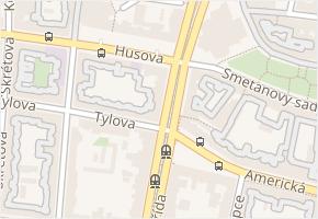 Klatovská v obci Plzeň - mapa ulice