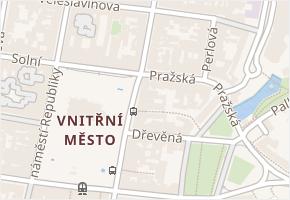 náměstí Republiky v obci Plzeň - mapa ulice