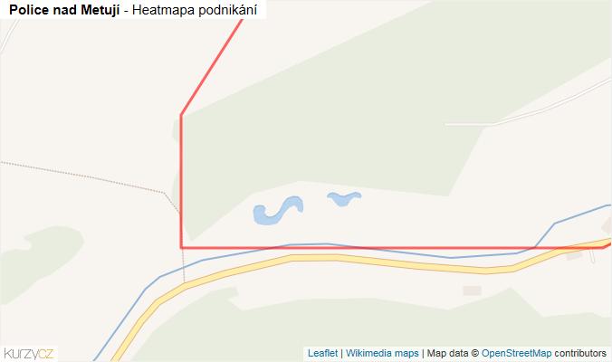 Mapa Police nad Metují - Firmy v obci.