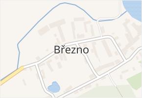 Březno v obci Postoloprty - mapa části obce