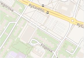 Krejnická v obci Praha - mapa ulice