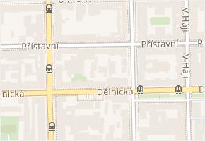Přístavní v obci Praha - mapa ulice