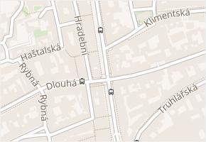 Revoluční v obci Praha - mapa ulice