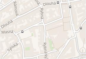 Rybná v obci Praha - mapa ulice