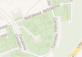 Střížkov v obci Praha - mapa části obce