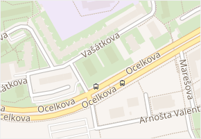 Vašátkova v obci Praha - mapa ulice