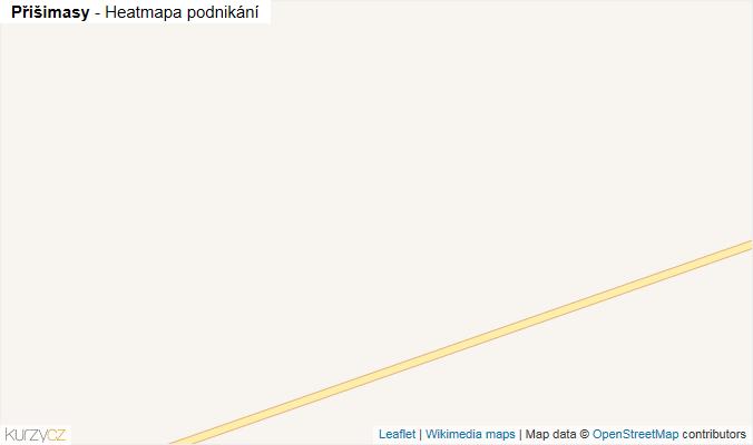 Mapa Přišimasy - Firmy v obci.