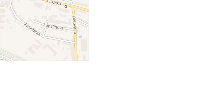 Bartošova v obci Slaný - mapa ulice