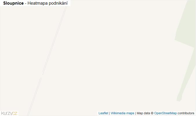 Mapa Sloupnice - Firmy v obci.