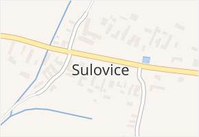 Sulovice v obci Svatý Mikuláš - mapa části obce