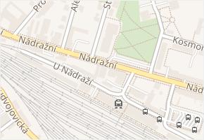 Nádražní v obci Turnov - mapa ulice