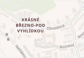 Obvodová v obci Ústí nad Labem - mapa ulice