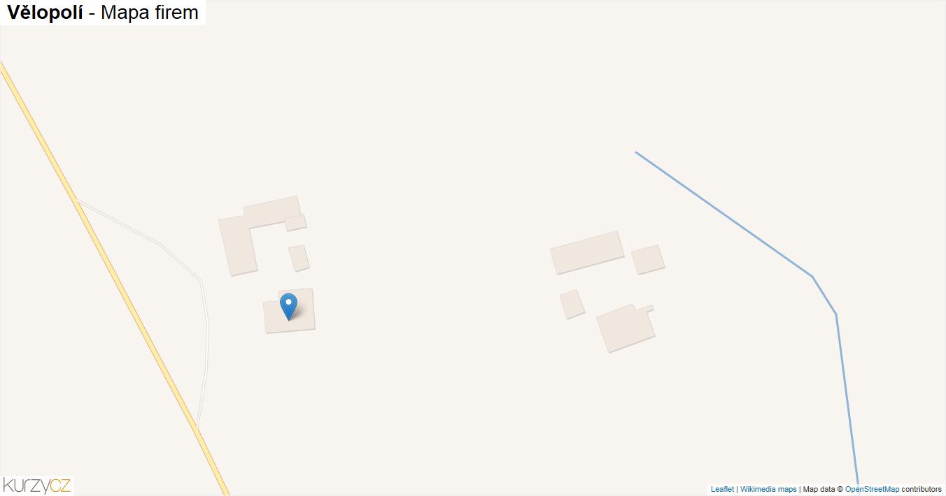Vělopolí - mapa firem