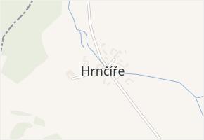 Hrnčíře v obci Vilice - mapa části obce
