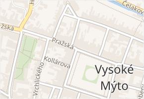 nám. Přemysla Otakara II. v obci Vysoké Mýto - mapa ulice