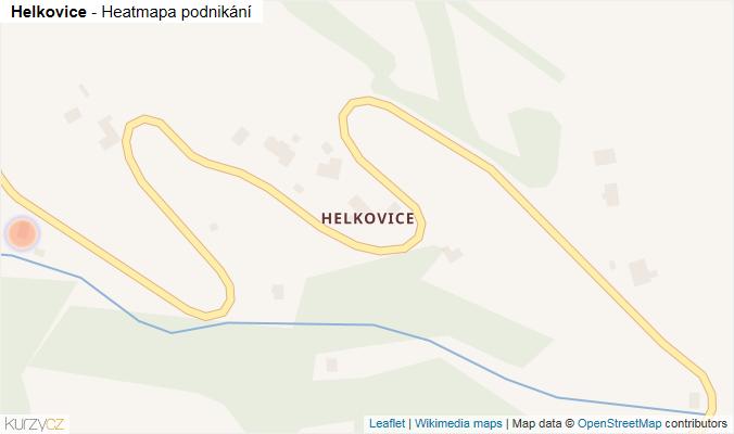 Mapa Helkovice - Firmy v části obce.