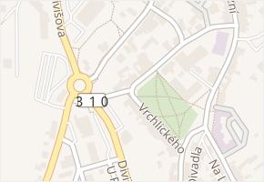 Vrchlického v obci Žamberk - mapa ulice