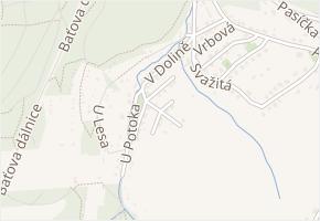 Prudká v obci Zlín - mapa ulice