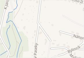 Ronzovy Paseky v obci Zlín - mapa ulice