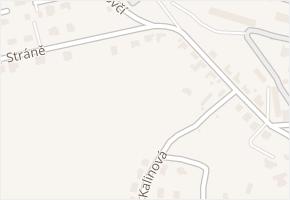 Stráně v obci Zlín - mapa ulice