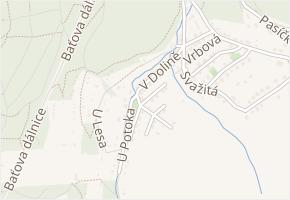 Ve Svahu I v obci Zlín - mapa ulice