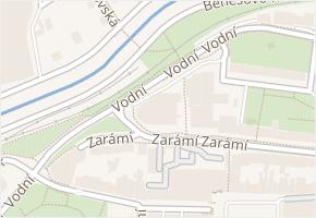 Zarámí v obci Zlín - mapa ulice