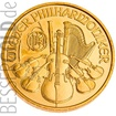 Zlatá mince Wiener Philharmoniker 1/25 oz
