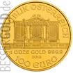 Zlatá mince 1 oz (trojská unce) WIENER PHILHARMONIKER Rakousko 2017