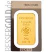 Zlatý slitek 50g HERAEUS (Německo)