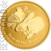 Zlatá mince Rok Zajíce 2 oz