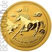 Zlatá mince Rok Koně 1/4 oz