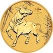 Zlatá mince Rok Buvola 1/2 oz
