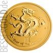 Zlatá mince Rok Draka 10 oz