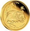 Zlatá mince Rok Myši 1/4 oz