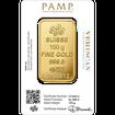 Zlatý slitek Pamp Fortuna 100 g