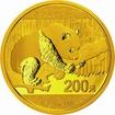 Zlatá mince 15g PANDA Čína