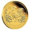 Zlatá mince Rok Kohouta 1/4 oz