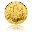 Zlatá mince 5000 Kč 2017 Bouzov stand